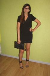 Sandro perfect little black dress