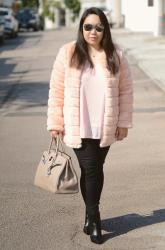 Pink Faux Fur and Accessories