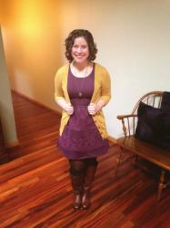 Blogging Besties: Fit and Flare Dress