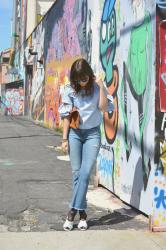 Street Art, Statement Sleeves & A Giveaway