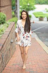 The Perfect Spring Romper + Giveaway:  Wearing My Latest FOTD on SS