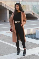 The total black holiday outfit #blogmas9