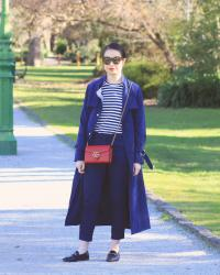 My favourite monochrome look: All-navy