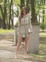 PRETTY LIGHT GREEN DRESS | DRESSLILY