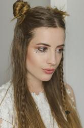 BEAUTY: Summer Boho Look mit Space Buns