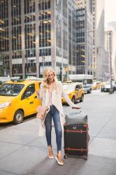 3 NYC Travel Tips + My Favorite Travel Shoe