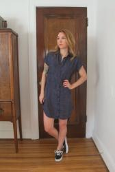 Completed: The Kalle Shirtdress