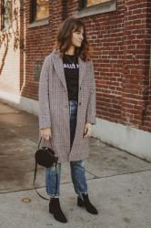 The Perfect Plaid Coat