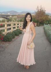 The Prettiest Pink Dress (with Pockets!)