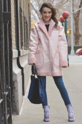 Pink Shearling and 28 for 28