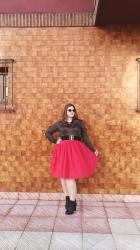 Sparkly Red ~ Curvy Plus size Woman