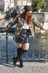 Under the sun : un look rock et féminin
