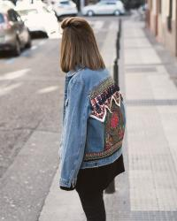 ETHNIC DENIM JACKET