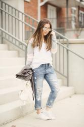 secrets to styling boyfriend jeans like a pro.