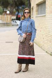 How to style a country western chic outfit: buckles!
