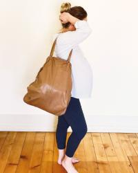 Pregnant and Fashionable - Look Départ en weekend