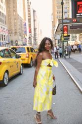 Combinaison bustier ASOS #Look1 New York
