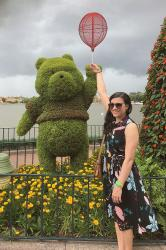 {outfit & mini guide} Sampling Food Around the World During Epcot's Flower & Garden Festival