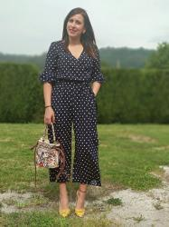 DOTS JUMPSUIT BY SHEIN