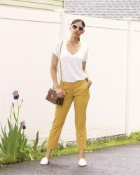 How to Wear Mustard Yellow in the Spring