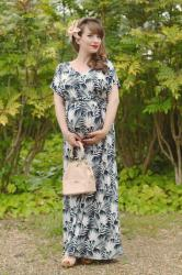 Outfit: tropical baby shower