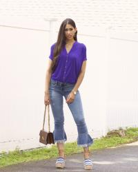 A Fool Proof Way to Wear 2018's Color of the Year: Ultra Violet