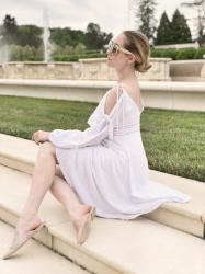 Little White MISA Dress