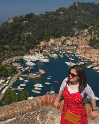 Dotty lady - Portofino outfit