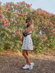 Flowered summer Dress El Armario de Meme
