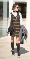 How to wear Pinafore dress Just like a Girl