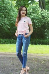 POWDER PINK SHIRT