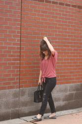 PinkBlush Mauve Top for Fall