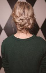 Braided Updo | Homecoming Hairstyle