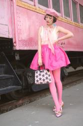 Pink on Pink / Train Town USA