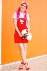 {Outfit}: Hello Kitty Overalls
