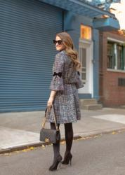 The Perfect Tweed Skirt Set for the Season