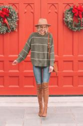 Easy Sweater and Boots Combo