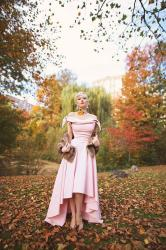 Pink Holiday || Gown Among Foliage