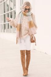 Neutral Leopard Sweater Styled Two Ways