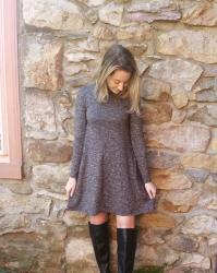 5 Ways to Style a Sweater Dress