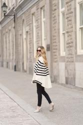 Striped Saint James Cape
