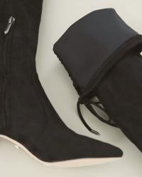 Narrow Calf Suede Boots Under $100 + Weekend Sales