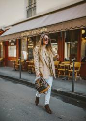 LV Vintage – Elodie in Paris