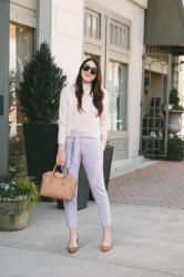 I'm Fully Obsessed with Lavender Pants
