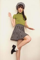 Green and Houndstooth