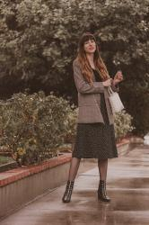 How to Style a Skirt in Cool Weather + Link Up