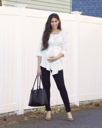 Chic Maternity Work Wear with Isabella Oliver