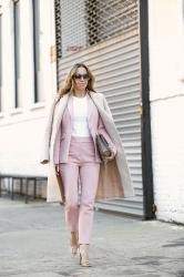 Spring Suiting: From Sneakers to Heels