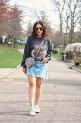 Trend to Try: Graphic Sweatshirt