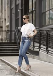 White Tee + Denim Simplicity